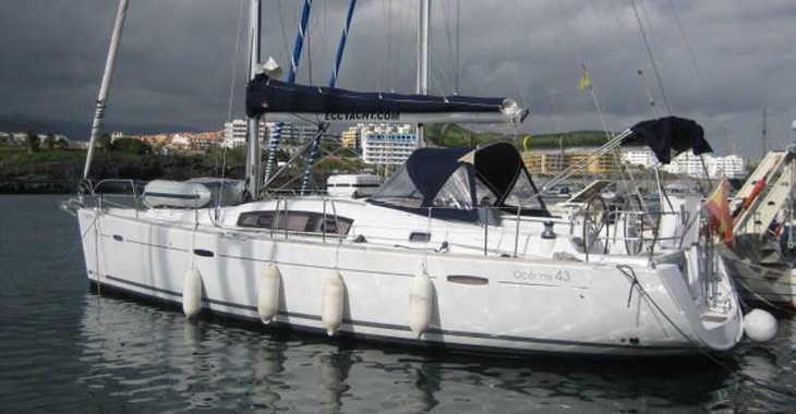 Rent a sailboat in Marina del Sur. Puerto de Las Galletas - Oceanis 43