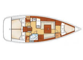 Alquilar velero Oceanis 37 en Marina del Sur. Puerto de Las Galletas, Las Galletas