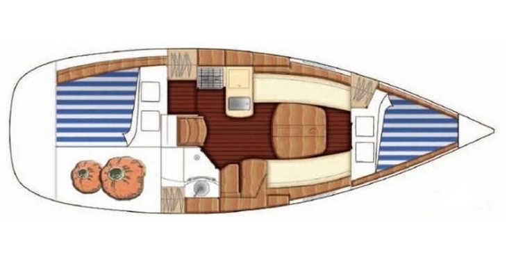 Alquilar velero en Marina Lošinj - First 31.7