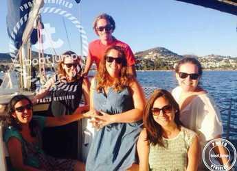 Chartern Sie segelboot Oceanis 430 in Pltja de ses salines, Ibiza (stadt)