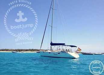 Rent a sailboat in Platja de ses salines - Oceanis 430