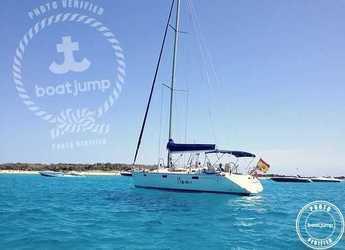 Chartern Sie segelboot in Platja de ses salines - Oceanis 430