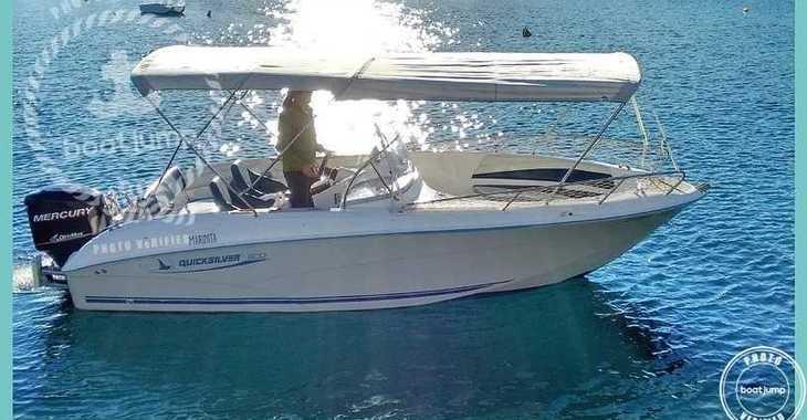 Rent a motorboat in Platja de ses salines - Commander 600