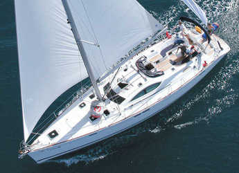 Rent a sailboat in Bunarina - Sun Odyssey 54 DS