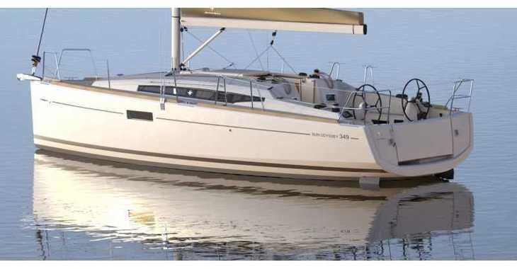 Rent a sailboat in Rogač - Sun Odyssey 349