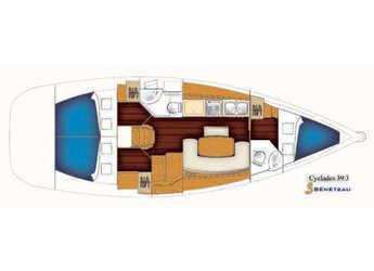 Alquilar velero Beneteau Cyclades 39.3 en Rogač, Šolta
