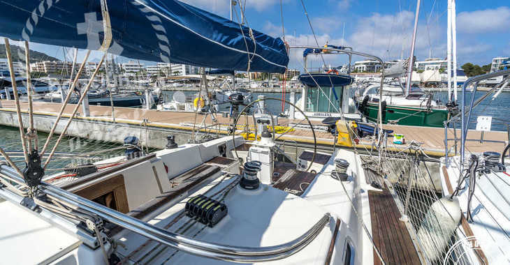Rent a sailboat in Port of Santa Eulària  - Hanse 411