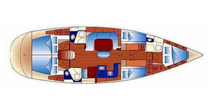 Rent a sailboat in Marina Mandalina - Bavaria 49