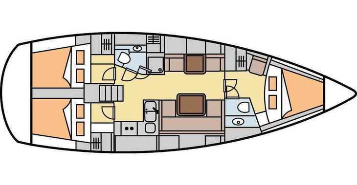 Alquilar velero Hanse 400 en Marina Frapa, Rogoznica