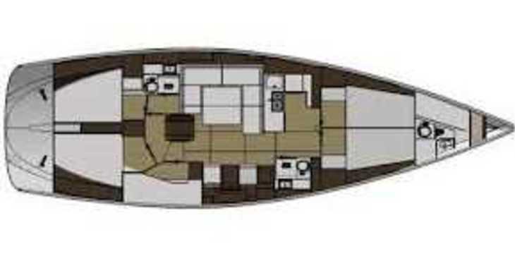 Rent a sailboat in Marina Mandalina - Elan 494 Impression
