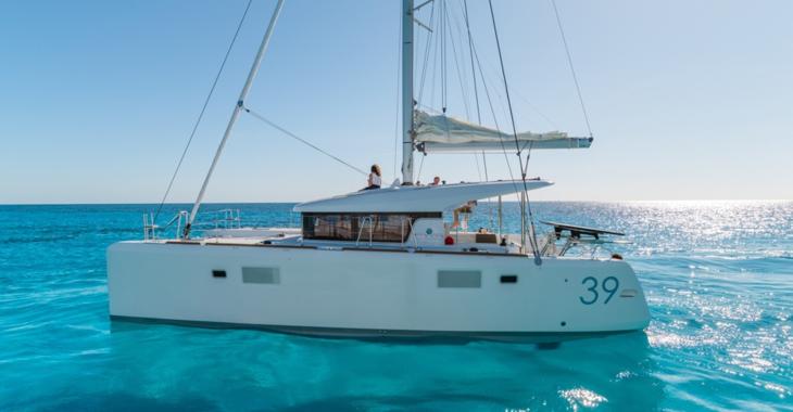 Alquilar catamarán en Muelle de la lonja - Lagoon 39