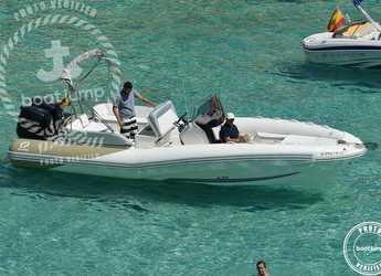 Louer dinghy à Club de Mar - Zodiac N-ZO 760