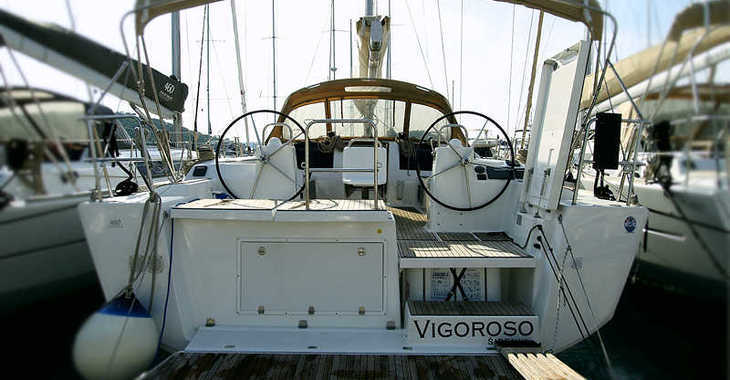Rent a sailboat in Marina Frapa - Dufour 460 Grand Large