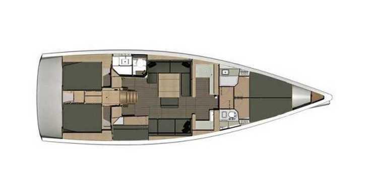 Alquilar velero Dufour 512 Grand Large en Marina Kastela, Kastel Gomilica