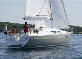 Rent a sailboat in Marina Betina - Elan 344 Impression