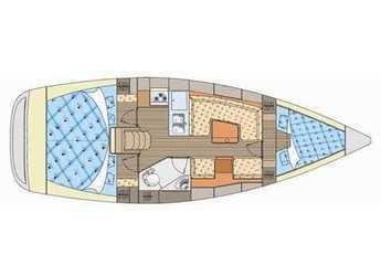 Rent a sailboat Elan 344 Impression in Marina Betina, Betina