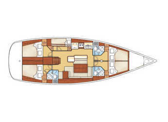 Rent a sailboat in Marina Betina - Oceanis 50 Family