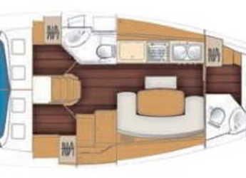 Rent a sailboat Beneteau Cyclades 39.3   in Marina Betina, Betina