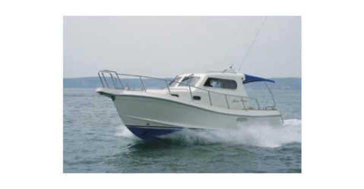 Rent a motorboat in Marina Zadar - Damor 900 FURIA