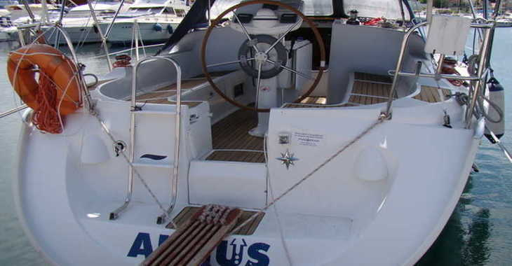 Rent a sailboat in Marina Kornati - Sun Odyssey 37