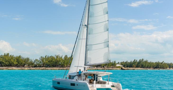 Alquilar catamarán Lagoon 42 en JY Harbour View Marina, Tortola East End