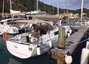 Rent a sailboat Dufour 382 Grand Large in JY Harbour View Marina, Tortola East End