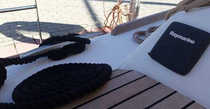 Alquilar velero dufour 410 Grand Large en Marina el Portet de Denia, Denia