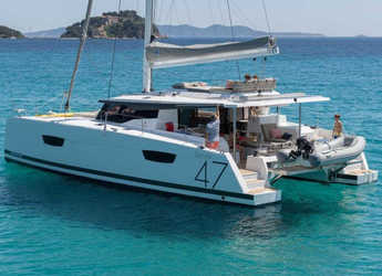 Rent a catamaran in Marina Kastela - Fountaine Pajot Saona 47