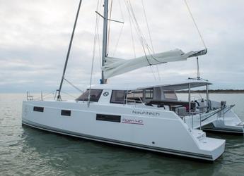 Rent a catamaran Nautitech Open 40 in JY Harbour View Marina, Tortola East End