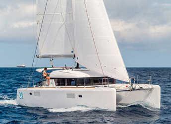 Rent a catamaran in Marina Mandalina - Lagoon 39 2016