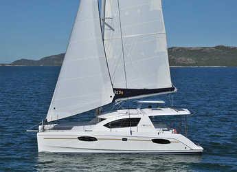 Rent a catamaran in Marina Mandalina - Leopard 38