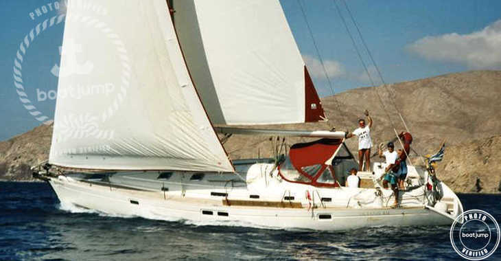 Rent a sailboat in Muelle de la lonja - Oceanis 461
