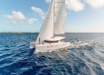 Rent a catamaran Lagoon 39 in JY Harbour View Marina, Tortola East End