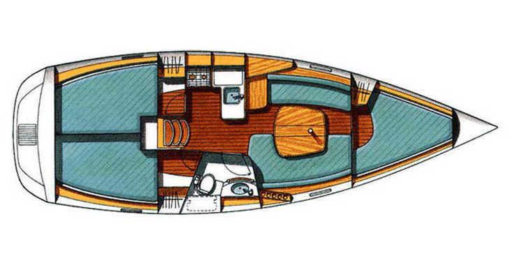 Alquilar velero Beneteau Oceanis 331 Clipper en Trogir (ACI marina), Trogir