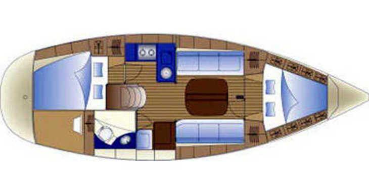 Rent a sailboat in Trogir (ACI marina) - Bavaria Cruiser 32