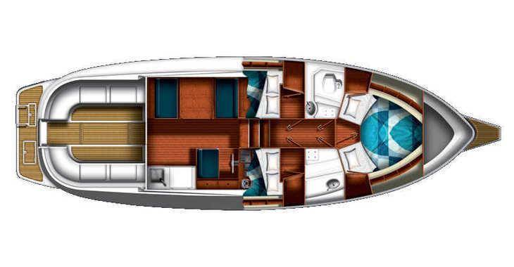 Rent a motorboat in Marina Sukosan (D-Marin Dalmacija) - ADRIA 1002V  BT (12)