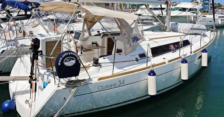 Rent a sailboat in Marina Sukosan (D-Marin Dalmacija) - OCEANIS 34