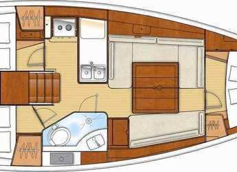 Chartern Sie segelboot OCEANIS 34 in Marina Sukosan (D-Marin Dalmacija), Sukosan