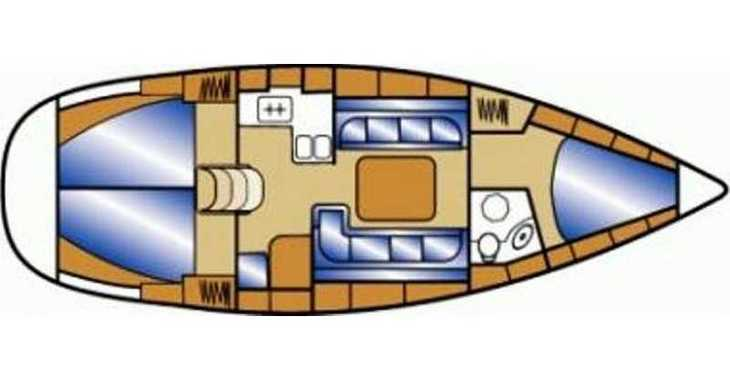 Rent a sailboat in Split (ACI Marina) - Bavaria 37 Cruiser