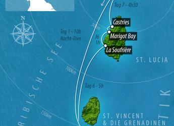 Rent a catamaran Cocktail Grenadines Lagoon 620 - Cabin Cruise Caribbean in Marina Le Marin, Le Marin