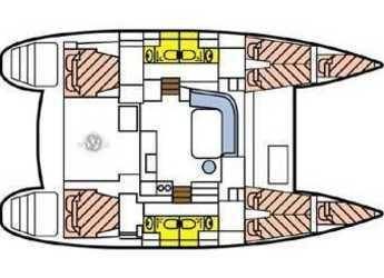 Rent a catamaran Lagoon 400 S2  in Marina Le Marin, Le Marin