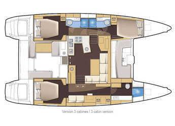 Alquilar catamarán Lagoon 450 en Marina Le Marin, Le Marin