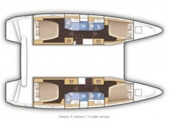 Alquilar catamarán Lagoon 42 en Marina Bas du Fort, Pointe-à-Pître