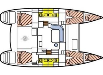 Alquilar catamarán Lagoon 400 S2  en Marina Bas du Fort, Pointe-à-Pître
