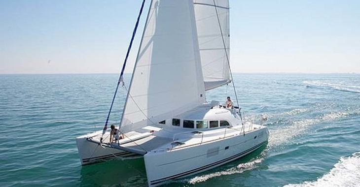 Rent a catamaran Lagoon 380 S2  in Marina Bas du Fort, Pointe-à-Pître