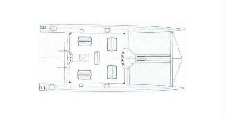 Rent a catamaran in Port Roses - Taïti 75
