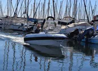 Rent a motorboat Compass 400 GT in Port Olimpic de Barcelona, Barcelona City