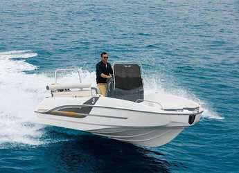 Rent a motorboat Beneteau Flyer 5 Spacedeck in Port Olimpic de Barcelona, Barcelona City