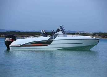 Rent a motorboat in Port Olimpic de Barcelona - Beneteau Flyer 5 Spacedeck