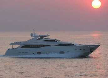 Rent a yacht in Port d'Aiguadolç - FERRETI 112